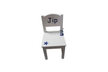 stoeltje met naam Jip
